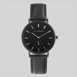 30b8c99936e Hot Luxury Watch 40mm mens watch the horse Women Watches leather belt  Fashion Brand Quartz wrist Watch Female Clock Relogio Feminino