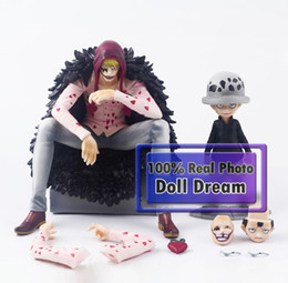 $enCountryForm.capitalKeyWord Canada - 12cm-14cm Japanese anime figure 2pcs lot One Piece Trafalgar Law Heart Anime collectible action figure PVC toys for Christmas