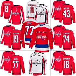 Washington Capitals Jersey 19 Nicklas Backstrom 65 Andre Burakovsky 70 Braden  Holtby 74 John Carlson 77 T.J. Oshie Hockey Jerseys 3fa341bdf