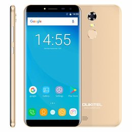 "2018 2g mp3 player Oukitel C8 5.5"" 18:9 Infinity Display Android 7.0 MTK6580A Quad Core Smartphone 2G RAM 16G ROM 3000mAh Fingerprint"