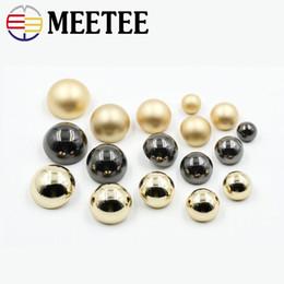 2018 Mushroom Shirt Button 10pcs Metal Buttons Women And Men Coat Metallic  Black Buttons Gold Color High Quality Sewing E2-1 6004407b1b14