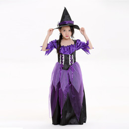 Discount scary witch costumes - halloween costume for kids v&ire witch costumes for kids girls princess  sc 1 st  DHgate.com & Discount Scary Witch Costumes | Scary Witch Costumes 2018 on Sale at ...