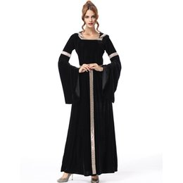 90fe93f3ab03 Scary long princess dress women witch costumes for women halloween costumes  for adult sexy carnival womens