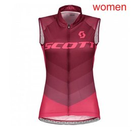 Scott Bikes Canada - New RAPHA SCOTT Cycling Jersey Quick Dry Bicycle sleeveless Vest Cycling Clothing Bike roupa ciclismo Breathable Cycling Sportwear 81809J