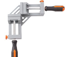 Angle Clamps Australia - NEW Style Double handle 90 Degrees Angle Clamp Right Angle Woodworking Frame Clamp clip aluminum alloy frame type