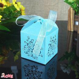 $enCountryForm.capitalKeyWord NZ - 50pcs Laser Cut Flower Pattern Wedding Gift Box Wedding Decoration Party Supplies Easter Candy Packaging Box 5ZT05