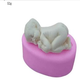 Cake deCorating embossing online shopping - Baby Modelling Silica Gel Embossing Mold Non Stick Handmade Cake Decorate Sugar Fondant Molds Baking Tool zy bb