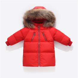 $enCountryForm.capitalKeyWord UK - Boys Winter Jacket Kids Duck Down Long Section Jacket girls Warm Coat Kids Down & Parkas Coat Fur Hooded Outerwear Clothing