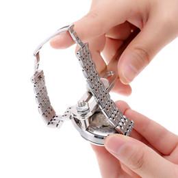 screw fix tools 2019 - Opening Watch Ware Two Feet Watch Fixing Tool Back Case Opener Baery Change Screw Kit Wristwatch Lid repair kits discoun