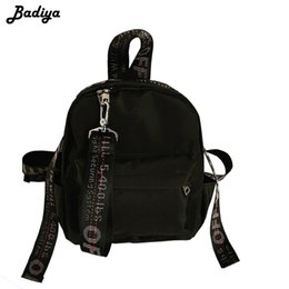 db1f3574456e Backpacks Leisure Bag Girl NZ - Fashion Brand Women Backpacks Teenage Girls  Letter Floral Printed School