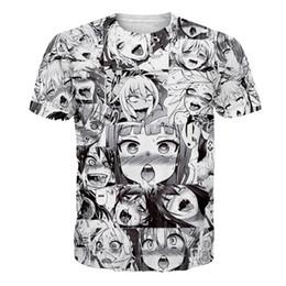 d0fc94a0f26 Ahegao Anime 3D T Shirt Men Women New Fashion Hip Hop Streetwear Tops Tees  Casual Funny Graphic Tshirt Plus Size S-5XL Dropship