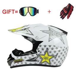 weight bike 2019 - NEW Professional Light weight Rockstar off road motorbike helmet DOT approved motorcycle helmet dirt bike head gears dis