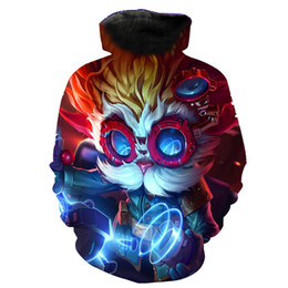 2018 New FASHION MEN and WOMEN Heimerdinger cool Funny 3D print Hoodie Sweatshirts Pullovers Autumn Tracksuit Loose Thin Hoody