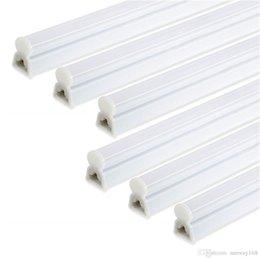 Fluorescent Tubes T5 UK - T5 LED Tube Light 1ft 2ft 3ft T5 LED Light Tube 4W 9W 13W T5 Integrated LED Tubes AC85-265V Fluorescent Lamps 3-years Warranty