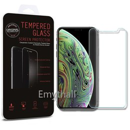 $enCountryForm.capitalKeyWord UK - For Iphone XR XS MAX X 8 7 Tempered Glass Screen Protector J3 J7 Prime LG M320 Q8 2018 Moto E5 plus Zenfone live L1 Retail Package