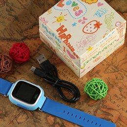Smart Watches For Windows Australia - kids GPS tracker Q90 Touch Screen WIFI Smart Watch phone Child SOS Call Location Finder Device Anti Lost Monitor for baby gift