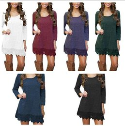 $enCountryForm.capitalKeyWord Canada - 10pcs Womens Warm Long Sleeve Jumper Tops Ladies Slim Knitted Sweater Solid Color Casual Mini Dress M175