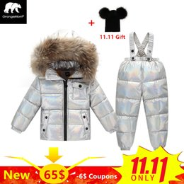 $enCountryForm.capitalKeyWord Australia - Fashion Russian winter coats Waterproof ski suits kids clothes 2-5 Y child coat down jacket with natural fur for boys snowsuit