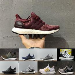 577ea4d473f40 2018 Ultraboost 3.0 4.0 Running Shoes Uncaged 3.0 III Primeknit White Black  Men Women Athletic Shoes Size 36-47 drop shipping