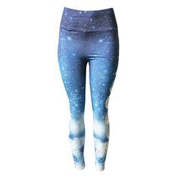 $enCountryForm.capitalKeyWord UK - Women's Fitness Sports Gym Running Yoga Athletic Pants Newest Style Hot Sale High Waist Planet Star Moon Print Yoga Pants