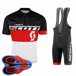 $enCountryForm.capitalKeyWord NZ - Ropa Ciclismo Scott Team Summer Cycling Jersey mtb maillot Breathable Bike Clothing Quick-Dry short sleeve Bicycle Sportswear 10404J