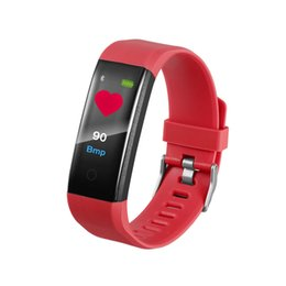 Fitness band trackers online shopping - 115 plus Smart Wristbands Fitness Tracker Step Counter Activity Monitor Band Alarm Clock Vibration Wristband for iphone Android phone