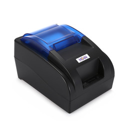 HOIN USB   Bluetooth Thermal Cash Receipt Printer POS Printing Instrument Printer Cash Receipt Printer Support Windows Android iOS on Sale
