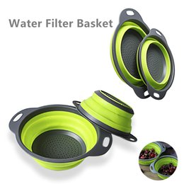 $enCountryForm.capitalKeyWord Australia - 1 set foldable fruit wash basket Kitchen Collapsible Fruit Vegetable Strainer Space Saver fruit basket outdoor travel supply LSL01