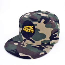 Banda de Arctic Monkeys hombres gorras Arctic Monkeys logo bordado gorra de béisbol gorra de rock hip hop