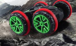 $enCountryForm.capitalKeyWord NZ - Amphibious dump double-sided stunt car charging four-wheel remote control vehicle off-road vehicle toys