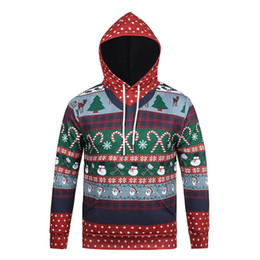 China New Christmas Men Women snowman Christmas tree 3d Hoodies Sweatshirts Print Paisley Flowers Hoodies Winter Hooded Pullovers Tops supplier tree purple flowers suppliers