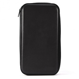 dvd cases storage NZ - Car Storage CD Bag Universal Portable 80 Disc Large Capacity PC Disc DVD CD Case for Car Media Storage CD Zipper Bags