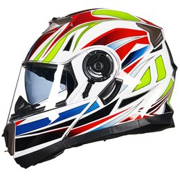 Sh Fashion UK - GXT Motorcycle protective fashion helmet Integral face flip up helmet Motor safety man woman casco moto casque SH-160