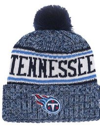 dd6762652 Winter Hat Tennessee Beanie stripes Sideline Cold Weather Sport Knit Hat  Wool Bonnet Warm TD Graphite Official Reverse Cap Beanies outlet