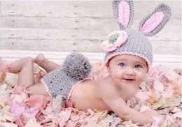 Wild Child Clothing NZ - Hot Sale Hand Woven Character Photography Clothes Newborn Baby Pictures Baby Hat Crochet Wild Children Photo Props Free Shipping