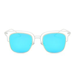$enCountryForm.capitalKeyWord UK - Hot Selling New Polarized Attitude Sunglasses Coating Mirror Lens Unisex Fashion Sunglasses Hollow Frame Cool Glasses