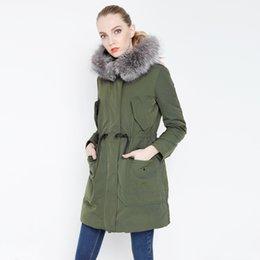 Fashion Led Hat UK - Winter New Product Fashion Good Quality Fox Heavy Seta Lead Draw Back Long Fund Even Hat Down Jackets Woman women's knitwear Panic buying
