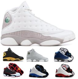 bbb8c7ae4c5 New 13 13s Basketball Shoes Sneakers Men Women White XIII Bred Chicago DMP  Wheat Olive Phantom Bordeaux Hyper Got Game Melo Authentic Shoes