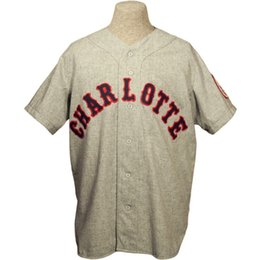 Hornets Jerseys Canada - Charlotte Hornets 1956 Home Jersey Grey Double  Stiched Name   Number   2eb5e31cc