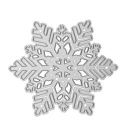 Embossing diE online shopping - Snowflake Diy Knife Die Carbon Steel Crafts Metal Cutting Dies Scrapbooking Template Embossing Craft Cut ny2 ff