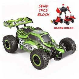 1:16 2WD Yüksek Hızlı RC ARABA 2.4G Büyük SUV Araba 4CH Hummer Oyuncak Motorlar Sürücü Off-Road Araç Model Oyuncak Ile $ 0.99 Bir PCS Blokları