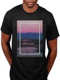 Großhandel Offizielle 1975 ist sie amerikanische grafische T-Shirt Musik für Autos Facedown Merch