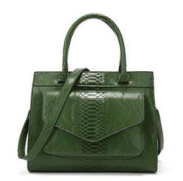 $enCountryForm.capitalKeyWord NZ - 2018 new Snake style handbag, European and American fashion ladies bags, simple atmosphere Single Shoulder Bag Fashion Joker package