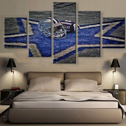 Art Canvas Prints Australia - Modern On The Wall Art Modular Pictures 5 Panels Sport Type For Living Room Home Decor Abstract Painting On Canvas Y18102209