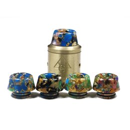 $enCountryForm.capitalKeyWord UK - new 810 Thread Drip Tips Cone Shape Resin Snake Skin Mouthpiece for TFV8 TFV12 TFV12 Prince TFV8 Big Baby Tank With Retail Package 2269019