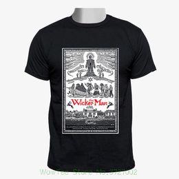 efa6c5a36cb The Wicker Man 70s Cult Horror Movie Retro Men Black Tshirt Size S - 2xl Men  T-shirt Lowest Price 100 % Cotton