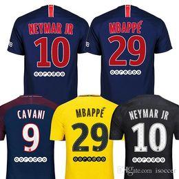 2018 2019 DANI ALVES MBAPPE adult soccer jerseys 18 19 CAVANI football  shirt VERRATTI Camiseta PASTORE DI MARIA maillot d65761526