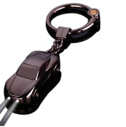 $enCountryForm.capitalKeyWord UK - Car Keychain - Best Gift Men's Metal high quality Keychain Key Holder Zinc Alloy Pendant Couple Key Chain 17385