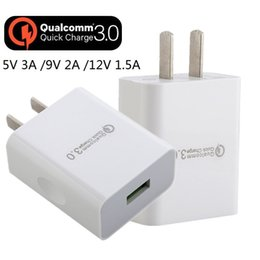 12v 5v 2a power adapter online shopping - Fast Adaptive Quick Charge US V V V A A US Power adapter wall charger for iphone X samsung s7 s8 note android phone tablet pc