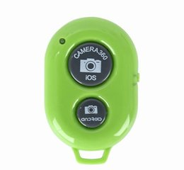 Universal Bluetooth Remote Camera Control Self-timer Release Shutter for samsung s3 s4 iphone 4 5 for ipad blackberry etc on Sale